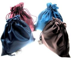 [12] DRAWSTRING BAG -  PLAIN