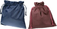 [12] DRAWSTRING BAG - CHECK