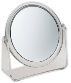 [3] FAMEGO MIRROR 5X MAGNIFYING - STAND CLEAR