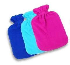 [12] FINESSE HOT WATER BOTTLE WITH FLEECE COVER