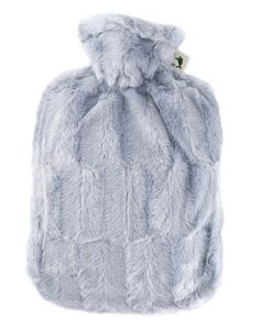 [6] HUGO FROSCH CLASSIC FAUX FUR COVER & HOT WATER BOTTLE