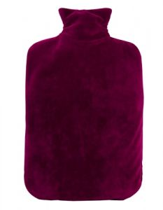 [6] HUGO FROSCH FLEECE COVER 2L HOT WATER BOTTLE