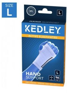 KEDLEY ELASTICATED HAND SUPPORT- LARGE