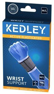 KEDLEY ELASTICATED WRIST SUPPORT- M/L