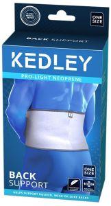 KEDLEY NEOPRENE BACK SUPPORT-UNIVERSAL