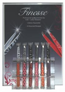 [1x36] FINESSE TWEEZERS DISPLAY DEAL  5% OFF DEAL