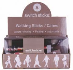 SWITCH STICKS CARD DISPLAY BOX
