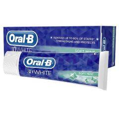[12] ORAL-B T/PASTE 3D WHITE SOFT MINT 75ML (D)
