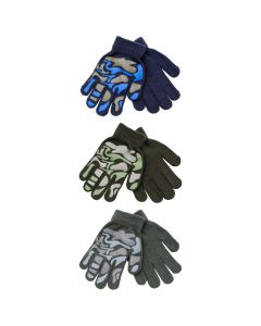 [12] BOYS GLOVES - CAMOUFLAGE