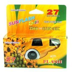 **ETA OCT** SUNFLASH DISPOSABLE CAMERA