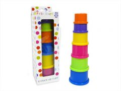 **DISCONTINUED** [6] FIRST STEPS STACK-UP CUPS (D)