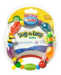 [4] NUBY BUG-A-LOOP TEETHER