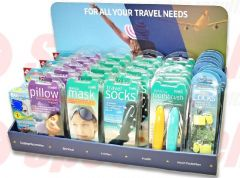TRAVELS COUNTER DISPLAY
