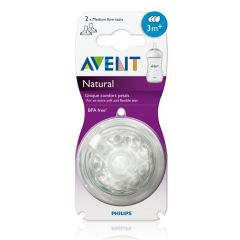 AVENT NATURAL MEDIUM TEAT