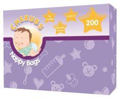 Pretty Cherubs Nappy Bags X200