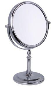Famego Chrome Pedestal Mirror