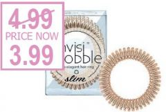 INVISIBOBBLE SLIM BRONZE ME PRETTY (HANGING PACK)