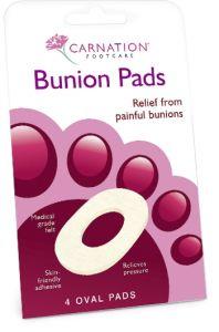 Carnation Bunion Oval Pads