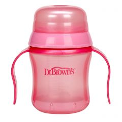 DR. BROWN'S SOFT SPOUT CUP - PINK(D)