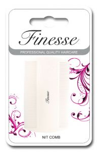 FINESSE DUST COMB - WHITE