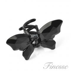 [6] FINESSE BUTTERFLY CLAMPS BLACK (D)