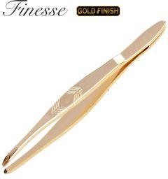 FINESSE TWEEZER POINTED GOLD