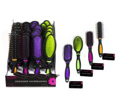 HAIR BRUSHES ASSORTED DISPLAY