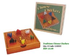 RETRO TOYS - TRADITIONS CHINESE CHECKERS (D)