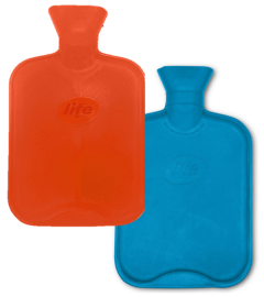 LIFE HOT WATER BOTTLE - DOUBLE RIB