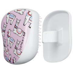 TANGLE TEEZER COMPACT STYLER - SKINNY DIP LOVELY LLAMA