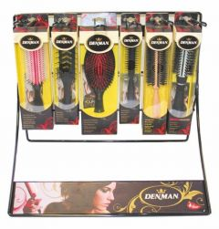 DENMAN HAIRBRUSH DISPLAY SMALL - HOLDS 15 BRUSHES (D)