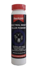 RENTOKIL PEST CONTROL - INSECTROL BUG & COCKROACH POWDER