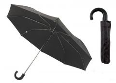 [12] DRIZZLES UMBRELLAS-GENTS BLACK