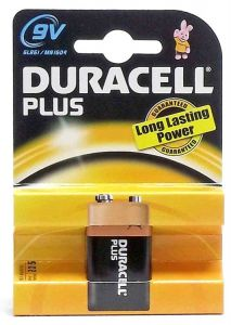 [10] DURACELL BATTERIES - 9V
