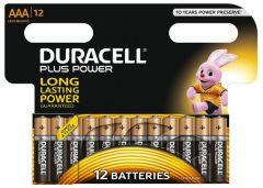 [12] DURACELL BATTERY AAA 12PK