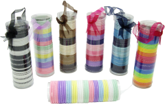 ELASTIC IN TUBES - ASSORTED COLOURS