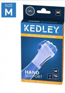 KEDLEY ELASTICATED HAND SUPPORT- MEDIUM
