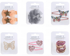 *NEW* LOVE 2 ACCESSORIZE LADIES HAIR DECORATIONS PACK