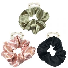 SATIN  LARGE SCRUNCHIE