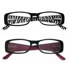 READYSPEX READING GLASSES-1.25 LADIES PLASTIC 3 COLOURS