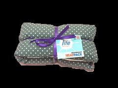 LIFE LUXURY LAVENDER HEATPACK - GRAY