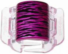 LINZICLIP HOT PINK TIGER STRIPE MIDI