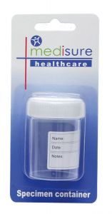 [6] MEDISURE SPECIMEN CONTAINER 60ML