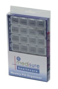 MEDISURE PILL ORGANISER 28 COMP (D) *USE L253 ONCE OOS*
