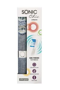 SONIC CHIC URBAN TOOTHBRUSH - DENIM DAYS