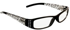 BETA VIEW READING GLASSES- LEOPARD PRINT 1.00(D)