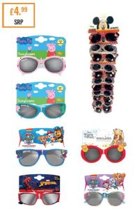 *NEW* DISNEY SUNGLASSES - 12 PCE CLIPSTRIP