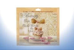 BUTTERFLY CUPCAKE MOUSE MAT & COASTER