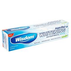 WISDOM FRESH EFFECT WHITENING TOOTHPASTE