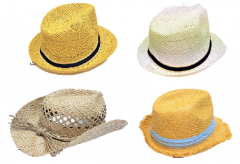 [12] GIRLS' SUNHATS ASSORTED (D)